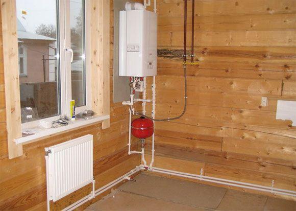 Отопление частного дома своими руками от газового котла в доме